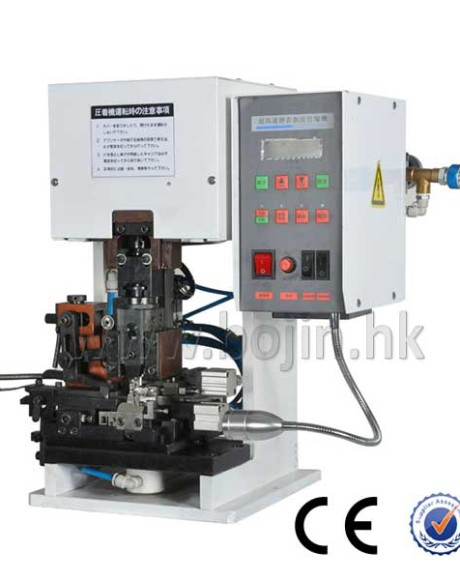 Semi-automaitc Mute Wire Stripping And Crimping Machine BJ-1.5TM