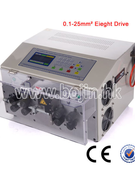Wire Cutting And Stripping Machine BJ-07MAX with Eight Drives