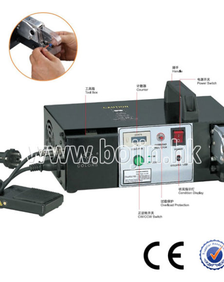 Electric terminal crimping machine BJ-608E